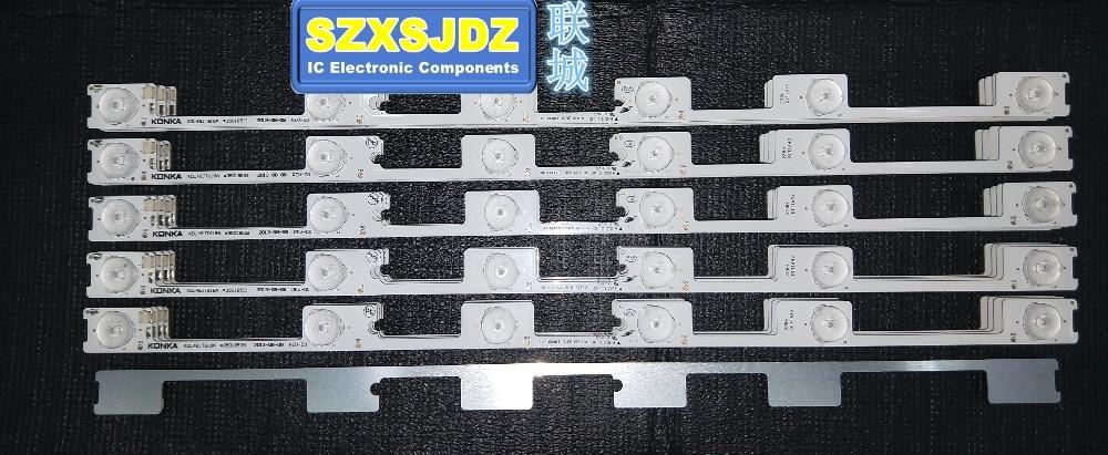 250PCS LED Strip Bar Backlight for KONKA KDL48JT618A KDL48SS618U 35018539 35018540 6 LED LIGHT (6 V) 442mm Original New-in Light Beads from Lights & Lighting    1