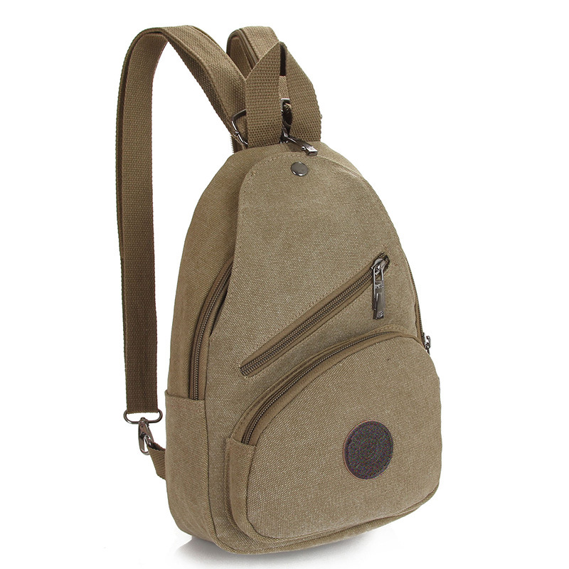 New Style Women Backpack Unisex Chest Bags Small Canvas Backpack For Women And Men Travel Bag PT989