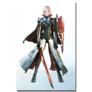 Шелковый плакат гобелен игра последняя фантазия Final Fantasy XV вариант 2