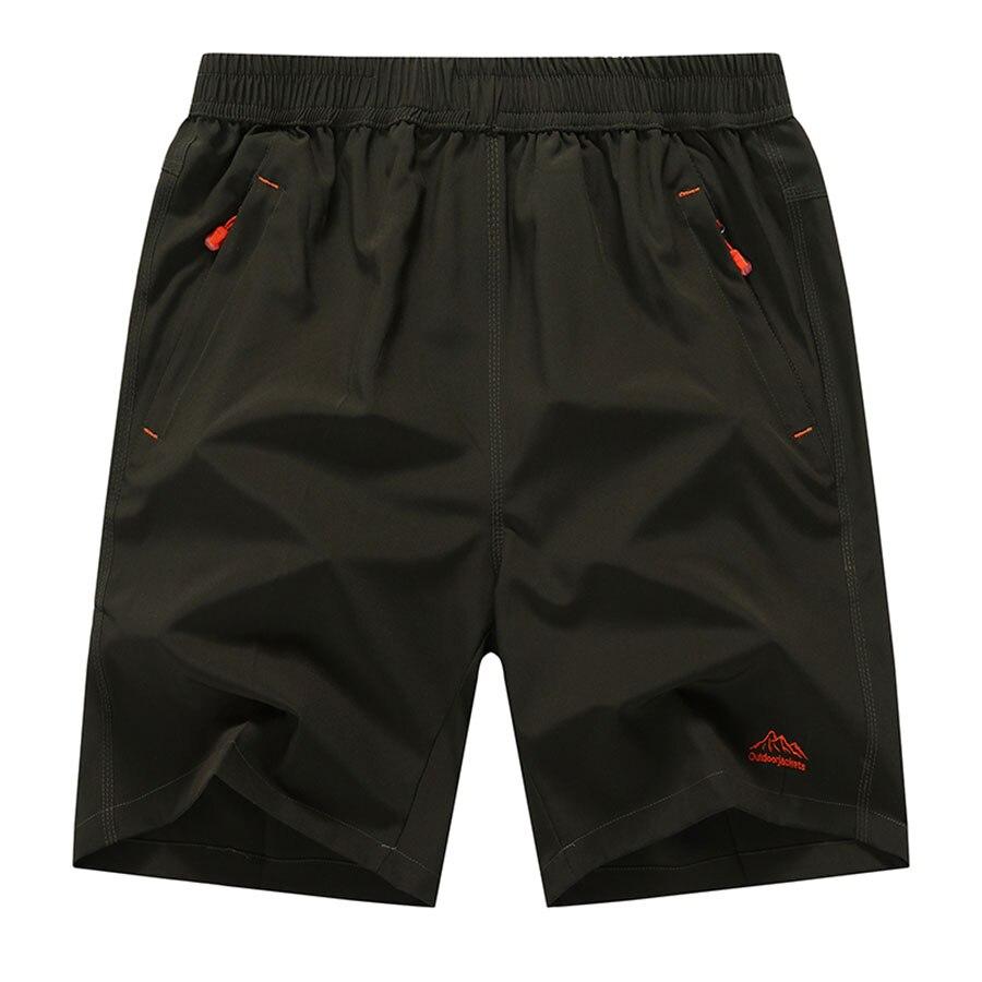 Mens Cargo Shorts Elastic Waist With Zipper Pockets 8xl 9xl Plus Size Mens Shorts Casual Mesh Man Short Bermuda Masculine 6d019