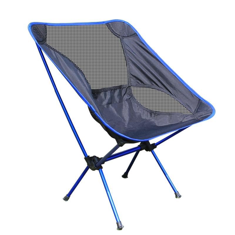 Étage chaise pliante chaise de pêche en aluminium dans Chaises de plage de Meubles