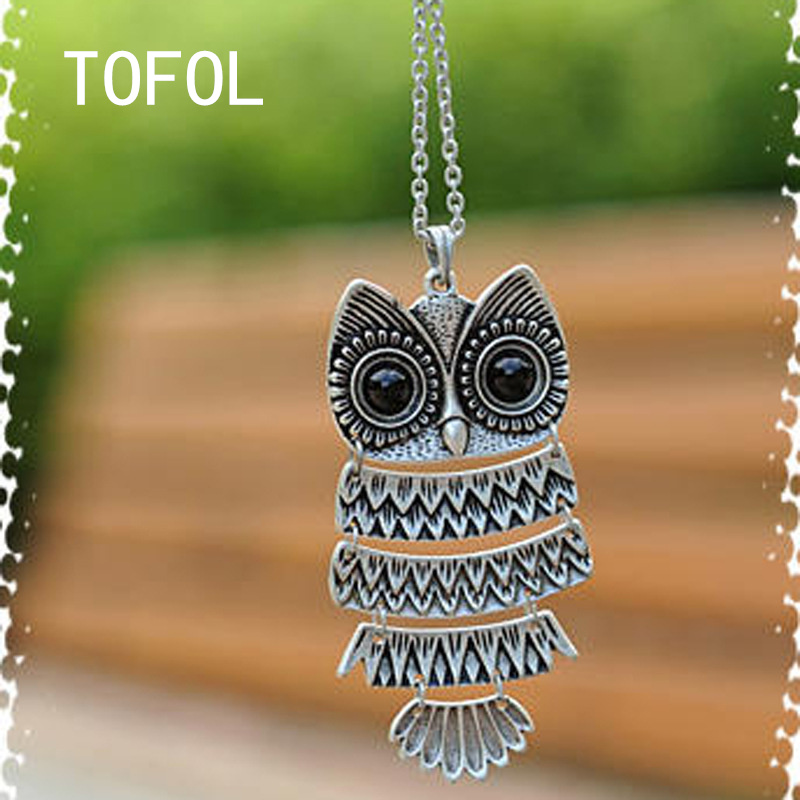 Cool Eagle Necklace Women Cut Alloy Necklaces Female Jewelry Animal Charm Pendant Fashion Gift