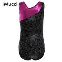 IMucci Girls Ballet Dress Long Sleeves Athletic Dance Leotards Dress Ballet Gymnastics Leotards Acrobatics For Kids