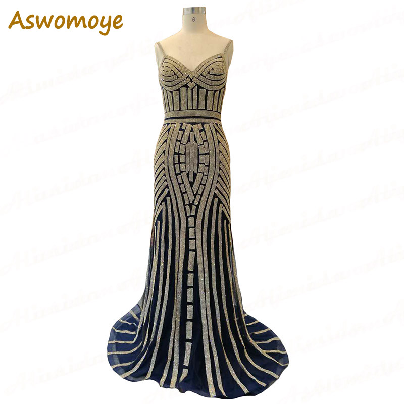 100% Real Photo Elegant   Evening     Dress   Bust 105, Waist 91, Hips 104 cheapest price only one piece