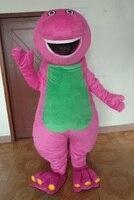 High quality sale of Barney mascot costume Dragon costume Christmas Halloween animal funny dinosaur Cosplay ADULT SIZE FREE SHI