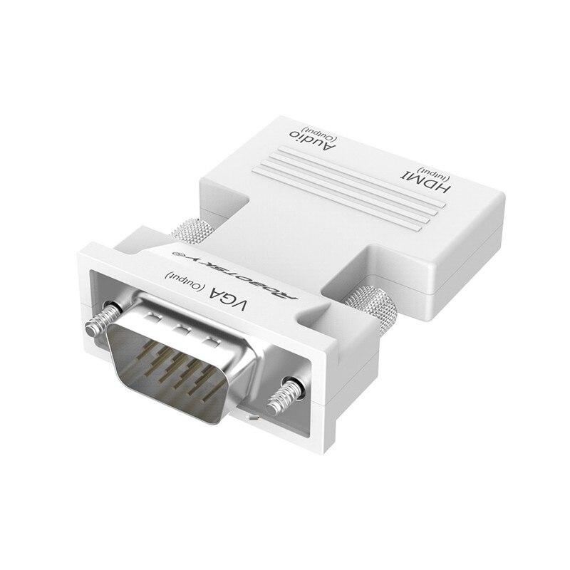 HTB1kWRObMMPMeJjy1Xdq6ysrXXaq Robotsky 1080P HDMI to VGA Adapter Digital To Analog Audio Video Converter Cable for PC Laptop TV Box Projector