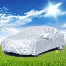 Бесплатная доставка Полный Автомобиль Обложка дышащий УФ-защита, пыли и царапин, огнезащитных щиты, мульти размер для более автомобилей