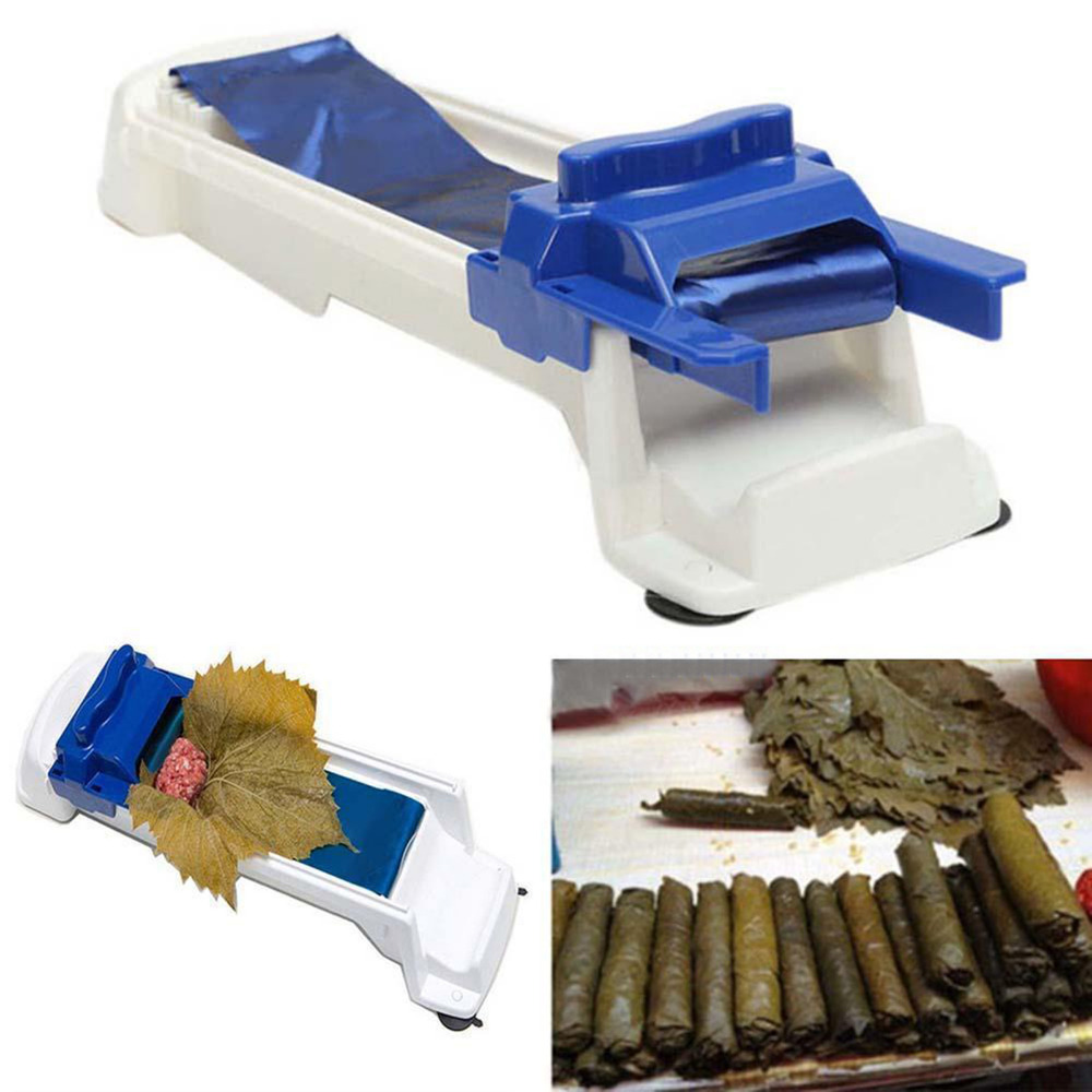 New Roller Stuffed Garpe Cabbage Vegetable Meat Rolling Tool Sushi Maker Grape Leaf Rolling Machine GHMY