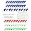 60 Шт. T5 1 SMD 5050 СВЕТОДИОДНЫХ Автомобилей Авто Инструмент Интерьер СВЕТОДИОДНЫЕ Панели Свет Лампы Красный/Синий/зеленый/Голубой Лед/Белый Для Ford