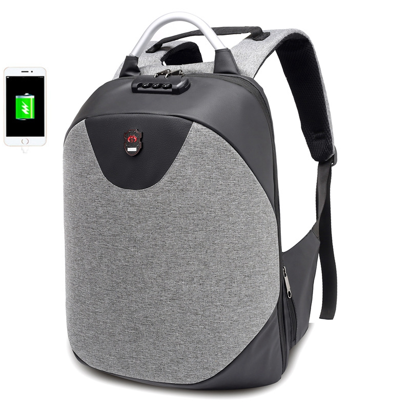 2018 NEW Men School 15.6 Laptop backpack Waterproof Mochila men Casual Travel Business USB Back pack Male Bag Anti-theft Gift augur 2018 brand men backpack waterproof 15inch laptop back teenage college dayback larger capacity travel bag pack for male