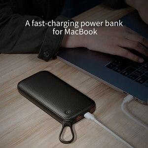 """Image 5 - Baseus 20000mah כוח בנק פ""""ד QC3.0 מהיר מטען USB הכפול סוג C מהיר טעינת Powerbank נייד מטען עבור מחשב נייד עבור טלפון"""