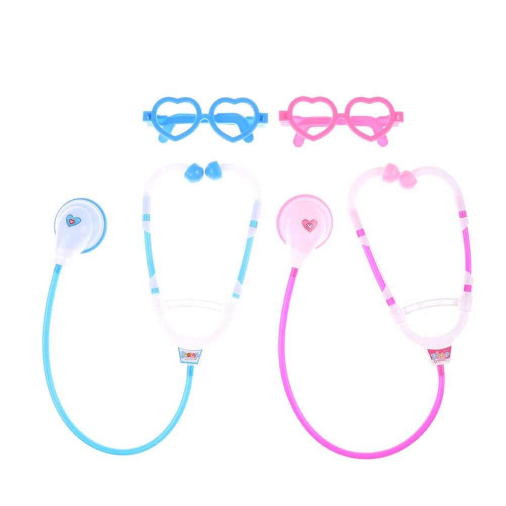 1 Satz Arzt Spielen Kind Medizinische Kit Baby-pädagogische Pretend Klassische Geschenk Stethoskop Spielzeug