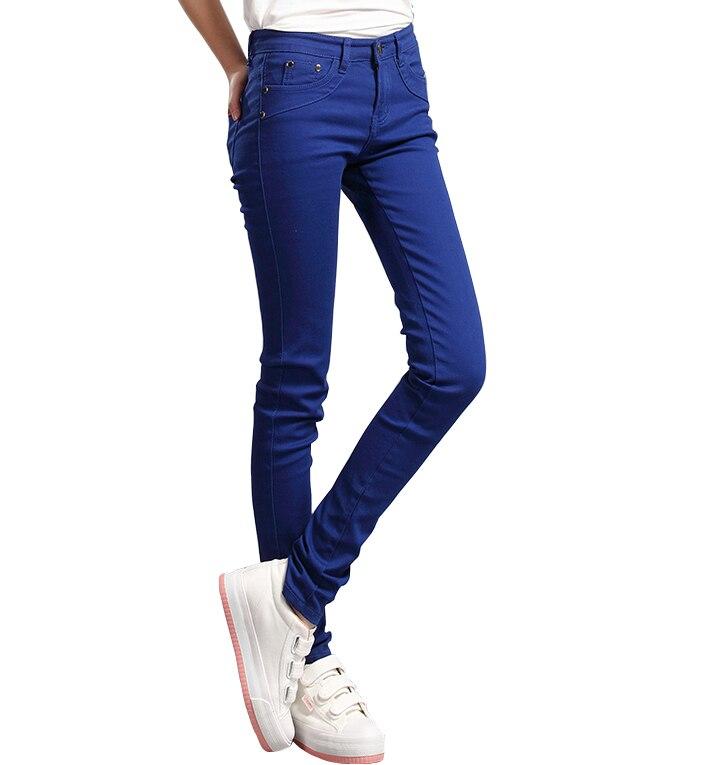 new full-color candy cotton pants Korean women thin elastic jeans pencil pants  woman's slim skinny sexy trousers/size:25-31 new full color candy cotton pants korean women thin elastic jeans pencil pants woman s slim skinny sexy trousers size 25 31