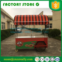 New designed mobile food cart food kiosk with logo one it customized mobile food cart for sale