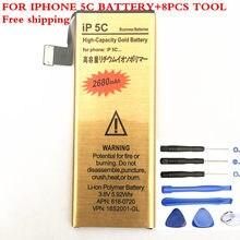 Hohe qualität Marke Neue Gute Qualität Goldene bateria ip5s Handy Batterie für Apple iPhone 5S iphone5S 5C Batterie 2018 neue