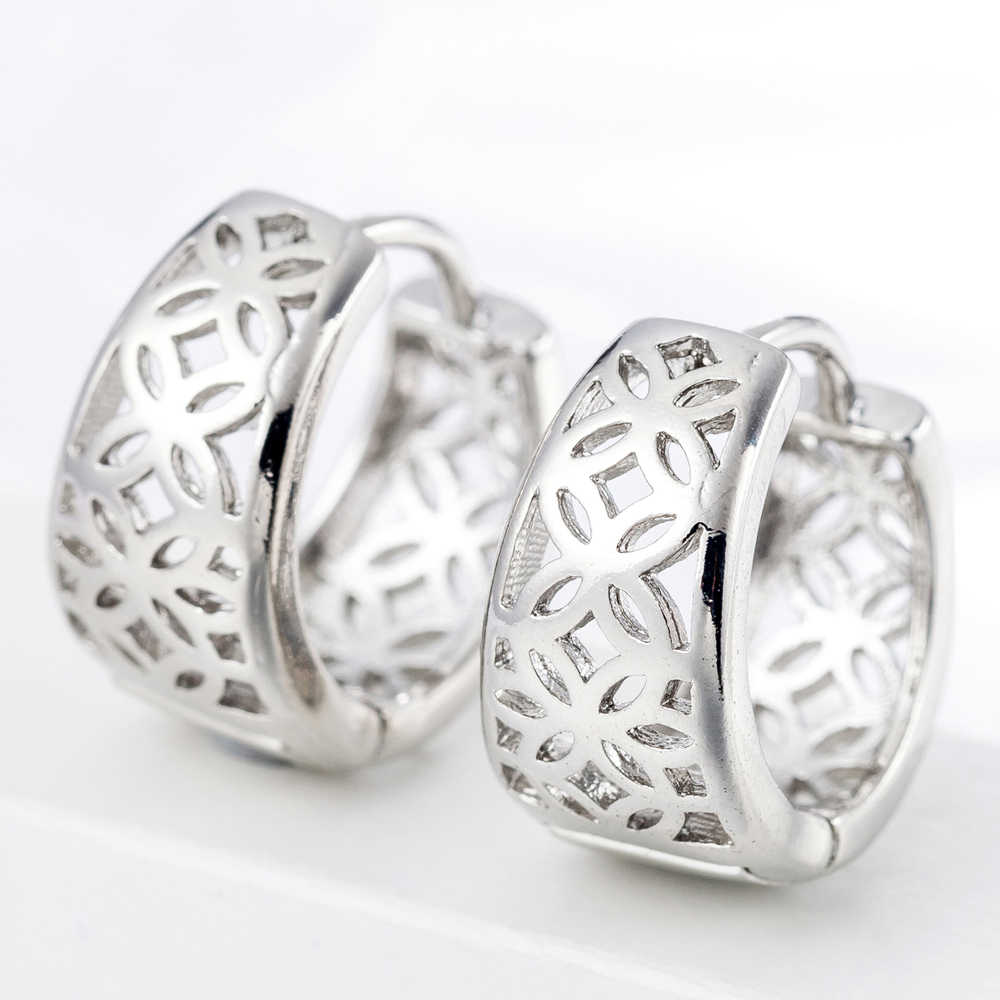 Wholesale Fashion Earrings Anniversary Party Accessories Nice Women Mother's Gift 925 Sterling Silver High Quality