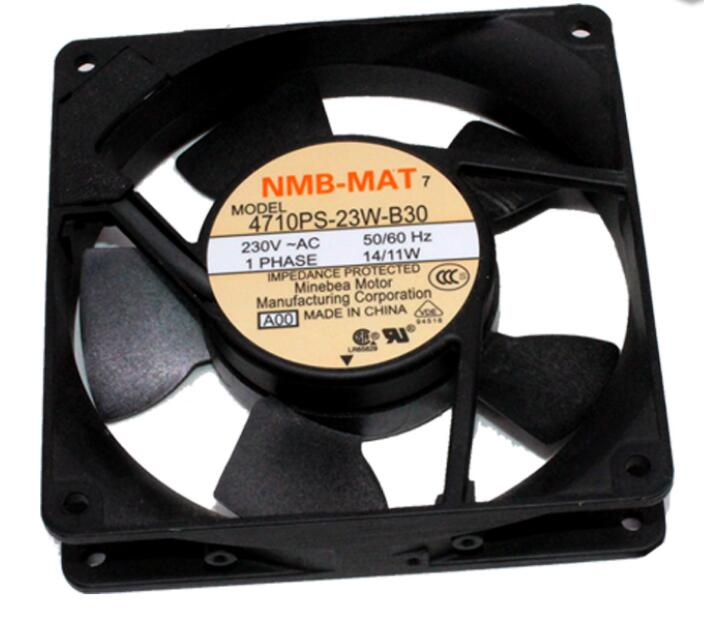 4710PS-23W-B30 12025 NMB 220V 12CM Aluminum High Temperature Cabinet Fan