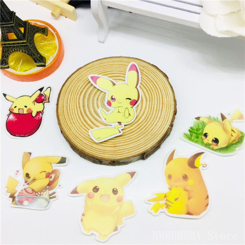 Autocollants elfes jaunes mignons, décalcomanies, icône Anime, cadeaux pour enfants, valise dordinateur portable, réfrigérateur ou vélo Ca