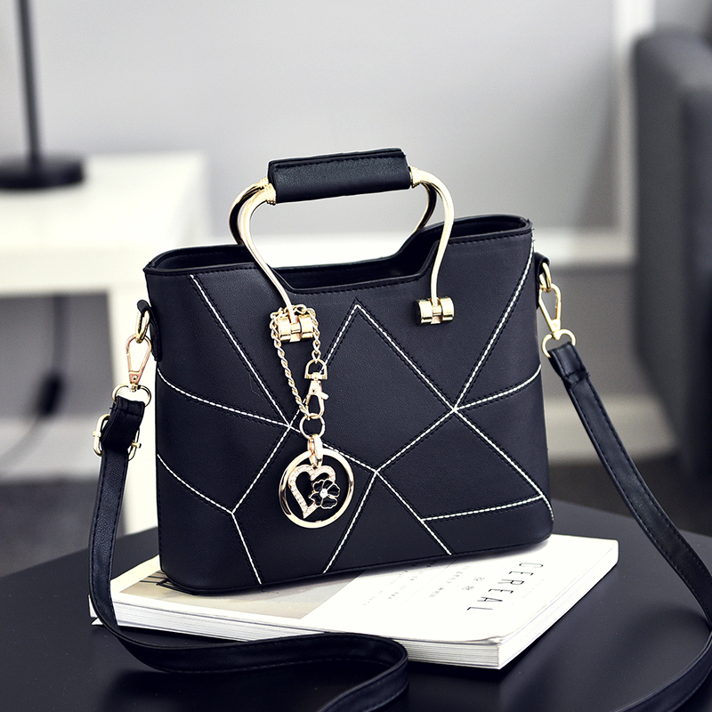 Sac ein haupt frauen tasche leder handtaschen messenger bags luxus designer mode handtasche bolsa feminina bolsos mujer bolsas metall