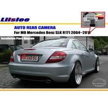 Для Mercedes-Benz SLK R171 2004 ~ 2011-Камера Заднего Вида/Резервное Копирование Парковка камера/HD CCD RCA NTST PAL/Номерной знак Лампа OEM