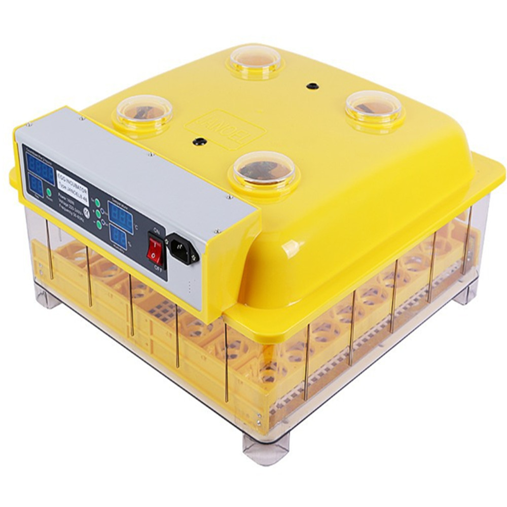 High Quality Automatic Turning 48 Egg Tray Incubator LED Display Turning Time Temperature control Hatchery Machine