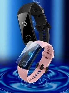 Image 3 - VSKEY 100 sztuk miękkie osłona na ekran z TPU dla Huawei Honor dyskusja zespół 4 5 3 2 A2 ERIS ochraniacz ekranu smart watch ochronne film