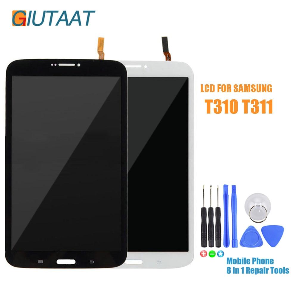 SM T310 T311 LCD Pour Samsung Galaxy Tab 3 8.0 SM-T310 SMT-311 Affichage LCD Matrice D'affichage Écran Tactile Numériseur Assemblage de Capteur