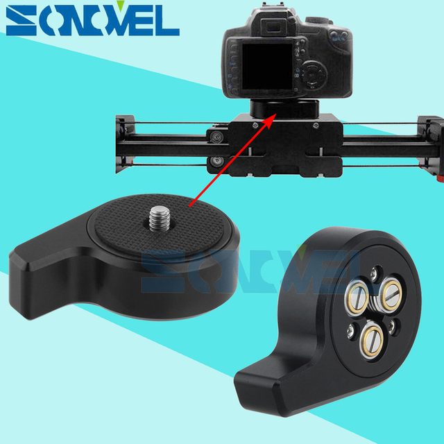 Universal Quick Release One Camera Baseplate DSLR Quick Release Plate Adapter For Canon Nikon with Tripod Gib Slider Stabilizer