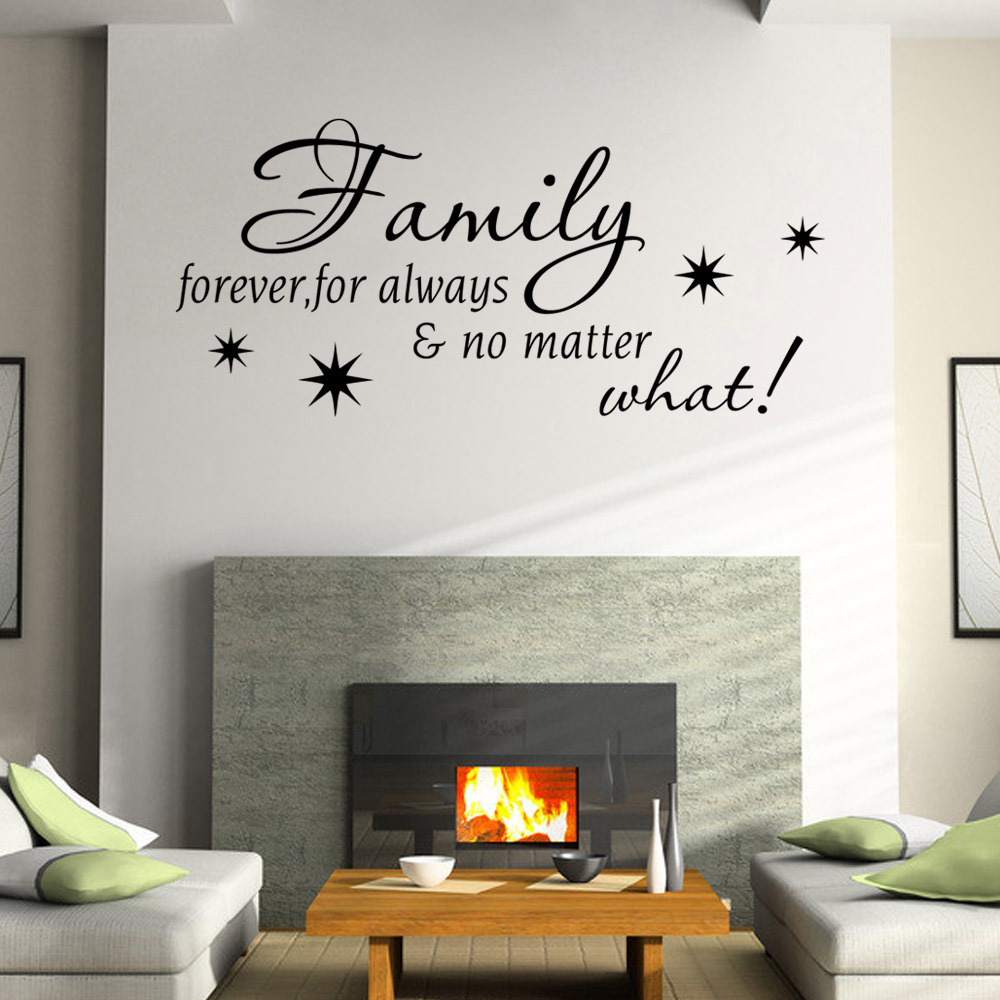 Sticker robot picture more detailed picture about wall sticker wall sticker quotes family forever removable bedroom stickers waterproof vinyl stickers simple home decor amipublicfo Choice Image