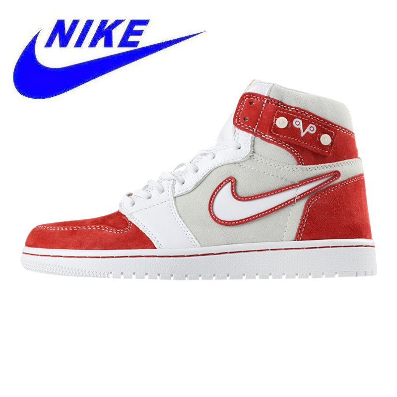 8f0fe1e82d US $279.0 |Nike Air Jordan 1 Custom Drake AJ1 Men Walking Shoes,  Lightweight Shock Absorbing Wear resistant, White & Red AJ5998 305-in  Walking Shoes ...