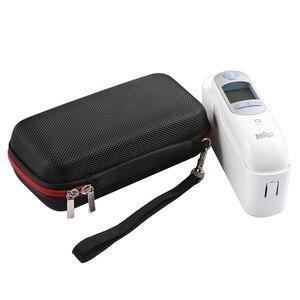 Image 5 - Tragbare Lagerung Reisetasche Tasche Fall für Braun Thermo 7 IRT6520 Digitale Ohr Thermometer Hartschalenkoffer Abdeckung Handtasche