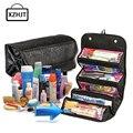 Xzhjt portable mujeres de gran bolsa de almacenamiento de bolsa de cosméticos bolsa de maquillaje bolsa de viaje de tocador maquillaje caso organizador del artículo de tocador de belleza