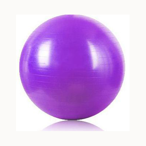 Sport Pilates Yoga Fitness Ball Exercise Balls Peanut Exercises Balance Gymnastic Pad 55cm Violet