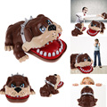 2016 New Funny Gift Toy Cute Large Bulldog Mouth Dentist Bite Finger Game Lucky Dog Tooth Dentist Game High Quality