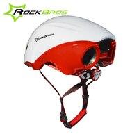 RockBros Women Men Road Bike Cycling Helmet Ultralight Integrally Molded Jet Propelled Tail Helmet Breathable Bicycle