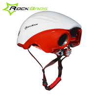 RockBros Women Men Road Bike Cycling Helmet Ultralight Integrally Molded Jet Propelled Tail Helmet Breathable Bicycle