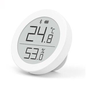 Image 2 - YouPin ברור דשא דיגיטלי bluetooth מדחום מדדי לחות 0 ~ 50 אלקטרוני דיו מסך 30 ימים נתונים אוטומטי הקלטה על ידי APP