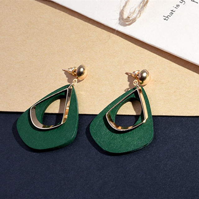 New 3 Color Exaggerated Vintage Earrings Fashion Statement Earrings For Women Party  Gift Personalized Long Earrings E0368