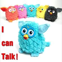 Electronic Pets 15cm Furbiness Talking Phoebe Interactive Owl Recording For Children Christmas Gift Action Figures