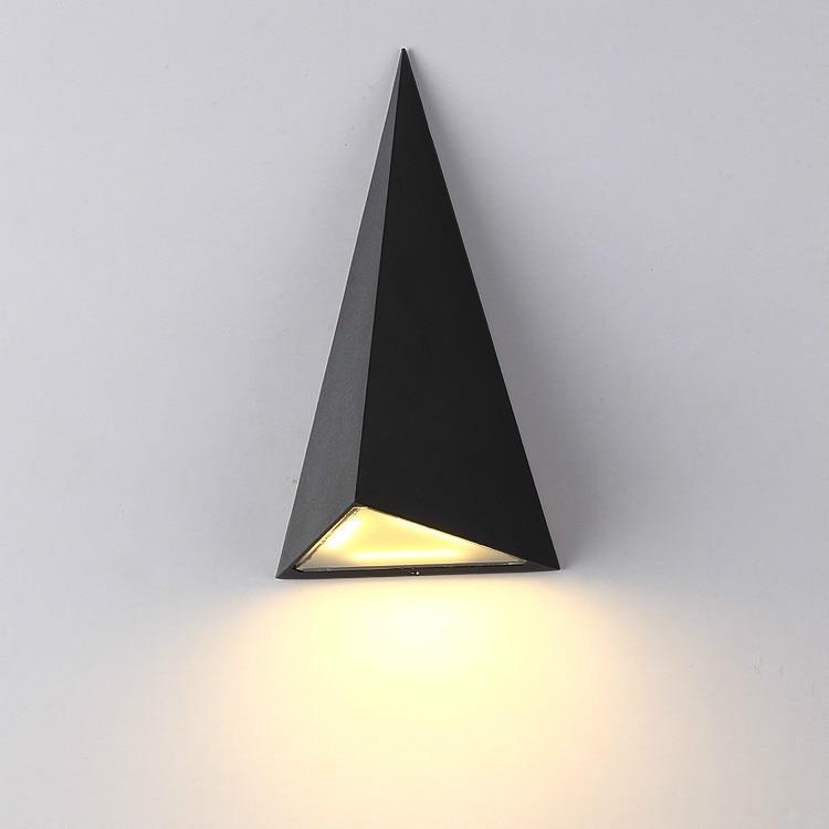 ФОТО Falcate 9W LED Outdoor Wall Light  IP65 Waterproof Wall Lamp Garden Lights Led Wall Sconce Up Down Lighting Bathroom Lamp Black