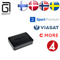 Sistema Linux Mag250 IPTV Caja Suecia Noruega Dinamarca Nórdico Escandinavo Europa IPTV Árabe Francés UK Kurdo IPTV Set Top Box