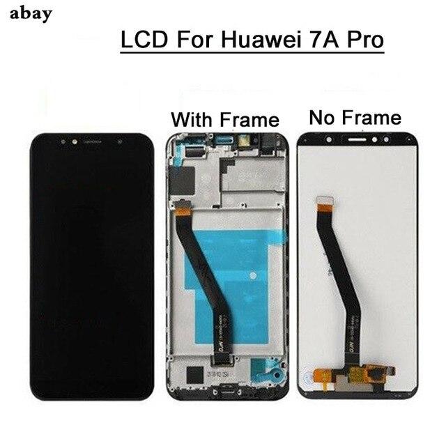 חדש 5.7 אינץ עבור Huawei Honor 7A פרו aum l29 LCD תצוגה + מסך מגע Digitizer עצרת להחליף מסגרת LCD עבור כבוד 7A פרו