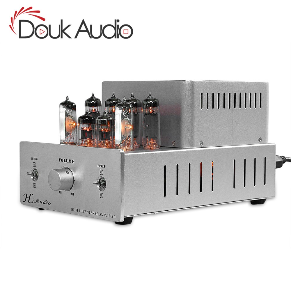 Douk Audio 6p14el84 Push Pull Hifi Class Ab Tube Integrated Preamp Pushpull Circuit Amplifier Full Diy Kit 13w In From Consumer Electronics On