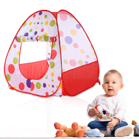 Baby Game Play Tent Foldable Children Kids Pop Up Ocean Ball Play Tent Indoor Outdoor Playhouse