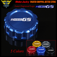 Blue Red Black Golden Titanium Motorcycle CNC Rear Brake Reservoir Cover Cap For BMW R 1150