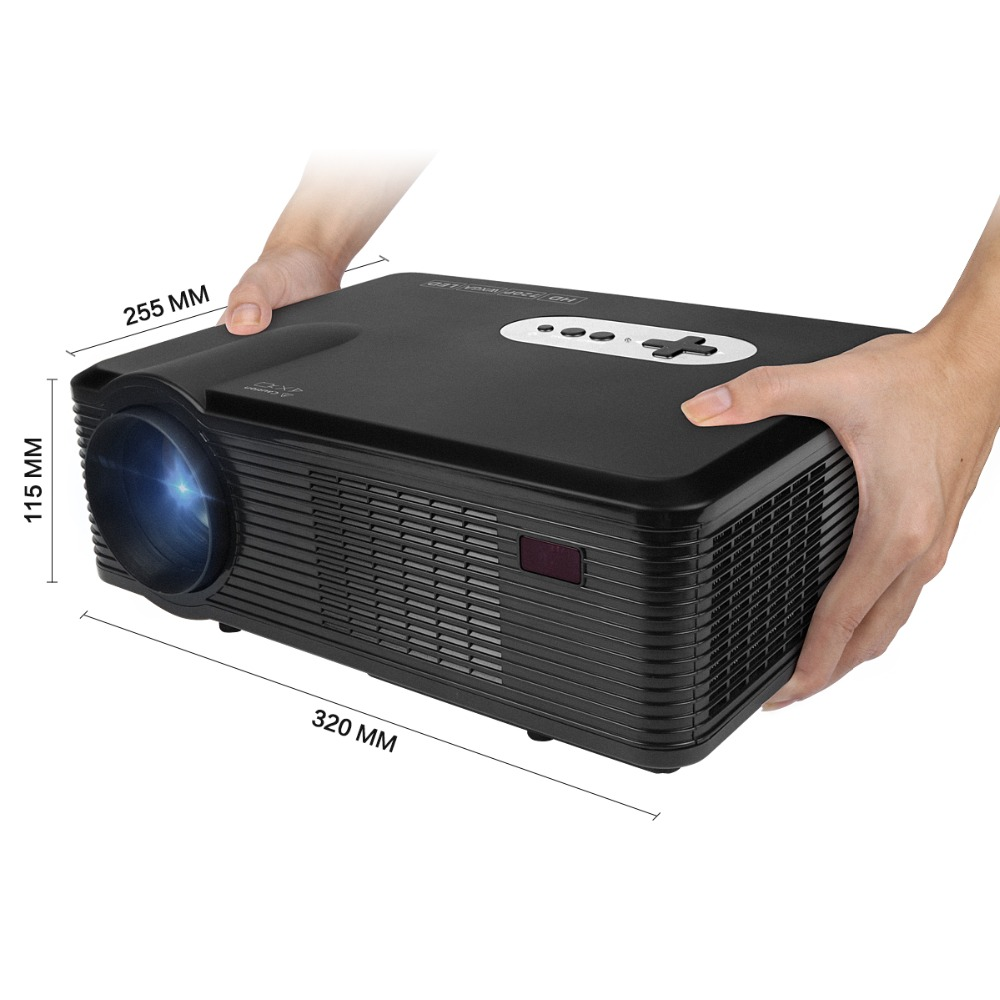 Morroto cl720 projector 3000 lumens hd home theater 720p for Hd projector