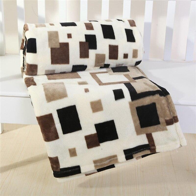 Дешевые высокого качества горячая Распродажа 200x230 см фирменные клетчатые Одеяло супер мягкие флис бросить Одеяло s на кровать зима плед пок...