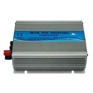 Микро сетевой инвертор, одобренный CE mppt 500 Вт 18 в 10,5-28 В постоянного тока, 120 в или 230 В переменного тока, 500 Вт Солнечная энергия на сетке инверт...