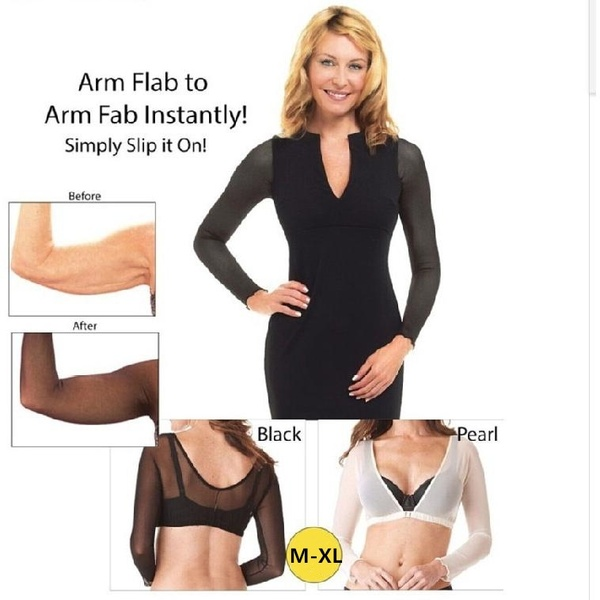 Amazing Arm Sleeve Shapewear Sexy Crop Tops Slimming Control Arm Trainer Body Shaper Fashion Women Shapers Slimming Product