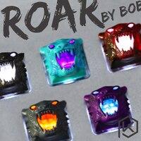 Groupbuy Free shipping BoB Roar Resin Artisan Shine Through Keycaps Novelty for custom mechanical keyboards oem cherry profile|keycaps for mechanical keyboard|keycaps mechanicalmechanical keyboard keycaps -
